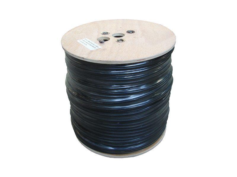 Cablu Coaxial RG6 Trishield cu sufa